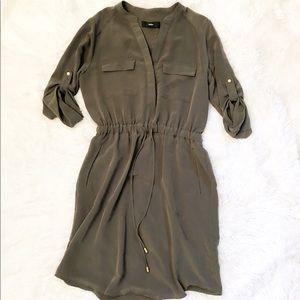 Mossimo Long Sleeve Dress with Pockets!